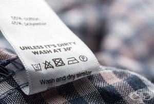 Научете какво значат символите върху етикетите на дрехите ни