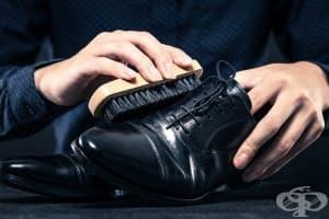 Полирайте лесно обувките със зехтин и лимон
