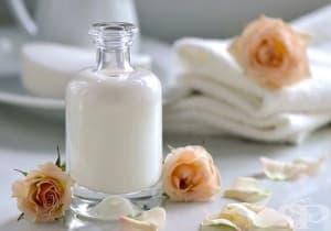 Защитете косата от слънцето с мляко и розово масло