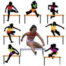 100 метра бягане с препятствия