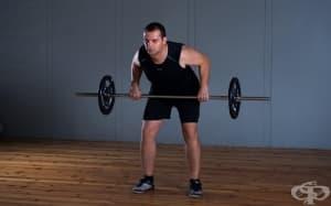Упражнения за гръб с щанга