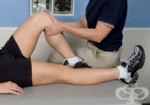 Възстановяване след скъсване на менискус при спортисти