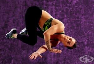 Тренировка за подобряване подвижността на средната част на гръбначния стълб