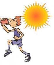 Топлинни изгаряния и инциденти в спорта