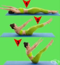 9 пилатес упражнения за корем, които да правите вкъщи