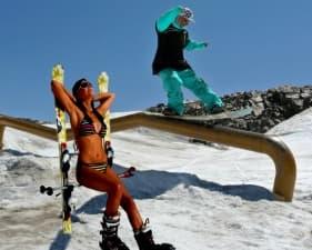 Най-добрите места за ски през лятото в Европа