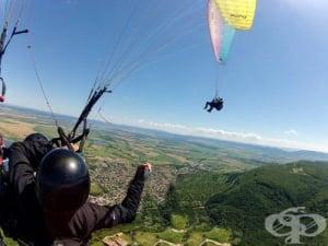 Локации за летене с парапланер в България