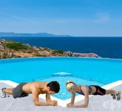 """Планк – упражнението за """"железен"""" коремно-мускулен корсет"""