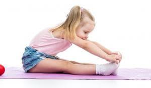 Сутрешна гимнастика за деца с цел профилактика на гръбначни изкривявания