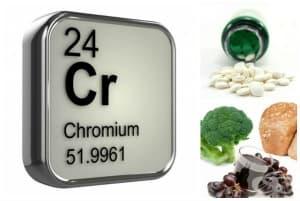 Полезни свойства на хром