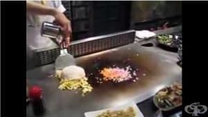 Тайната на прословутия ориз по китайски - автентично видео