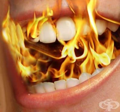 Алернативно лечение при синдром на парещата уста - изображение