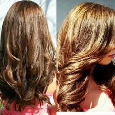 Билки за изсветляване на косата - изображение