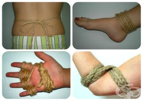 Конопено въже при дископатия и ставни болки - изображение