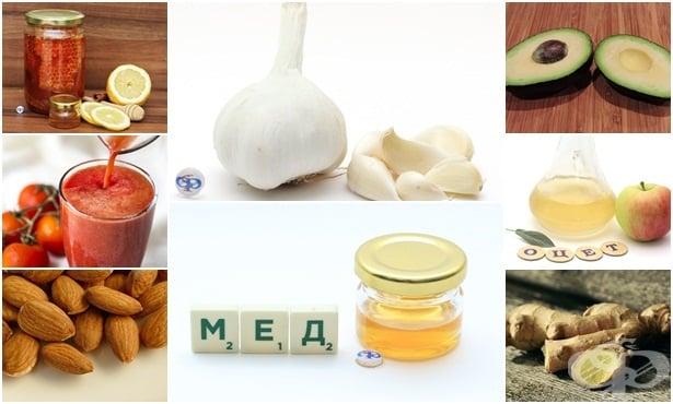 Домашно лечение на синузит с чесън и мед - изображение