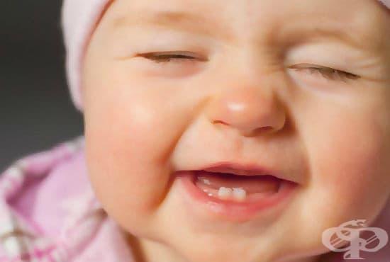 Как да помогнем на бебето при никнене на млечните зъбки - хомеопатия и съвети - изображение