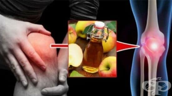 Лечение на ставни заболявания с ябълков оцет - изображение