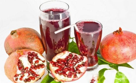 Новата виагра - сок от нар - изображение
