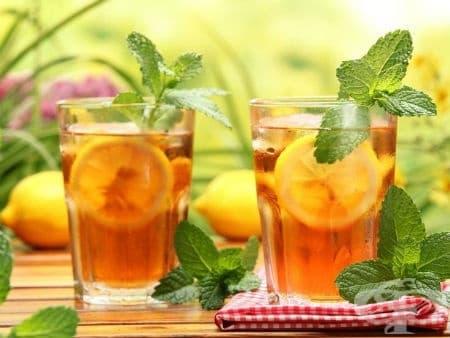 Полезните ефекти на студения чай - изображение