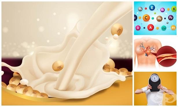 Ползи от соевото мляко за здравето - изображение