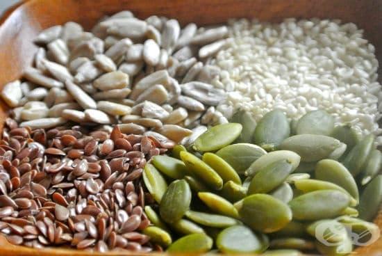 Регулиране на хормоните и менструацията чрез семена - изображение