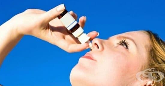 Сребърна вода и клеева тинктура срещу хрема и запушен нос - изображение