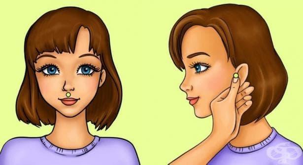 5 точки за акупресура, чиито масаж помага за отслабване - изображение