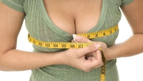 Уголемяване на бюста по естествен път - изображение