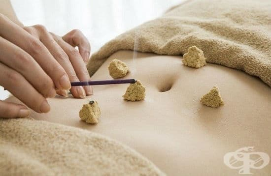 Въздействие с мокса (Су-джок терапия) - изображение