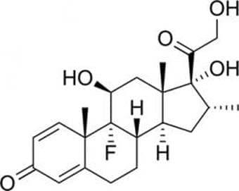 дексаметазон (dexamethasone)   ATC R01AD03 - изображение