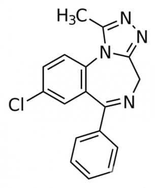 алпразолам (alprazolam) | ATC N05BA12 - изображение