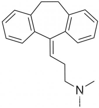 амитриптилин (amitriptyline) | ATC N06AA09 - изображение