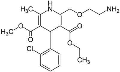 амлодипин (amlodipine) | ATC C08CA01 - изображение