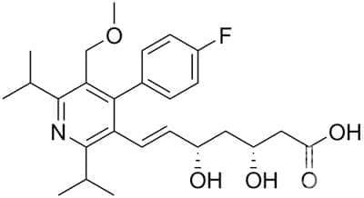 церивастатин (cerivastatin) | ATC C10AA06 - изображение