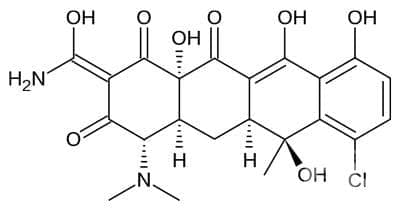 хлортетрациклин (chlortetracycline) | ATC J01AA03 - изображение