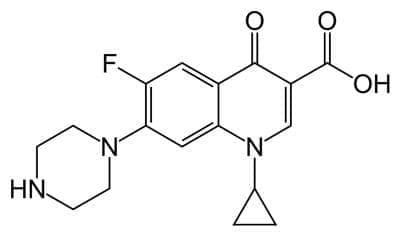 ципрофлоксацин (ciprofloxacin) | ATC J01MA02 - изображение