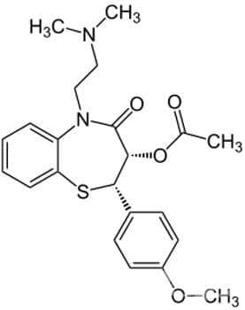 дилтиазем (diltiazem) - ATC C08DB01