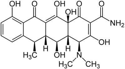 доксициклин (doxycycline)   ATC J01AA02 - изображение
