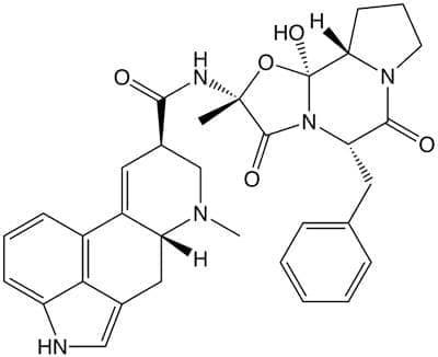 ерготамин (ergotamine)   ATC N02CA02 - изображение