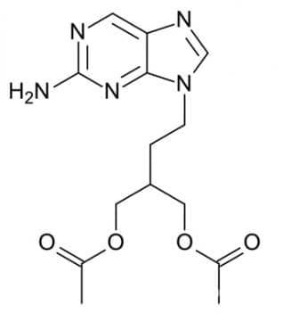 фамцикловир (famciclovir) | ATC J05AB09 - изображение