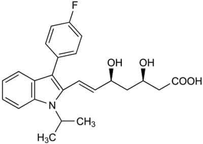 флувастатин (fluvastatin) | ATC C10AA04 - изображение