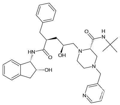 индинавир (indinavir)   ATC J05AE02 - изображение