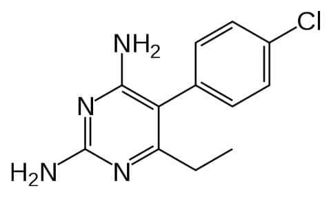 пириметамин (pyrimethamine) | ATC P01BD01 - изображение