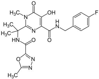 ралтегравир (raltegravir) | ATC J05AX08 - изображение