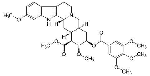резерпин (reserpine)   ATC C02AA02 - изображение