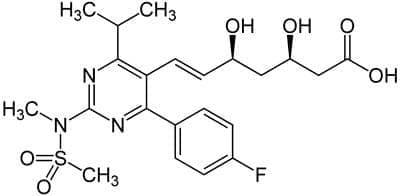 розувастатин (rosuvastatin) | ATC C10AA07 - изображение