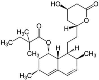 симвастатин (simvastatin) | ATC C10AA01 - изображение