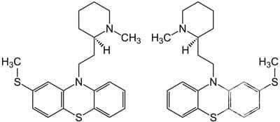 тиоридазин (thioridazine) | ATC N05AC02 - изображение