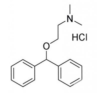 дифенхидрамин (diphenhydramine) | ATC A04AB05