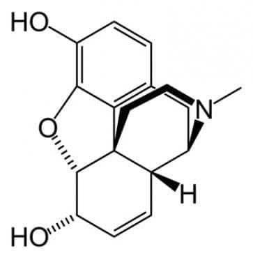 морфин (morphine) | ATC N02AA01 - изображение